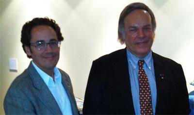 François Chartier et Robert Parker Jr. : une rencontre passionnante entre deux passionnés de vins et de cuisine.