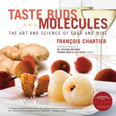 Chartier deciphers the magical molecular alchemy of food and wine pairing