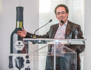 The National Order of Québec pays tribute to Chartier's new range of wines