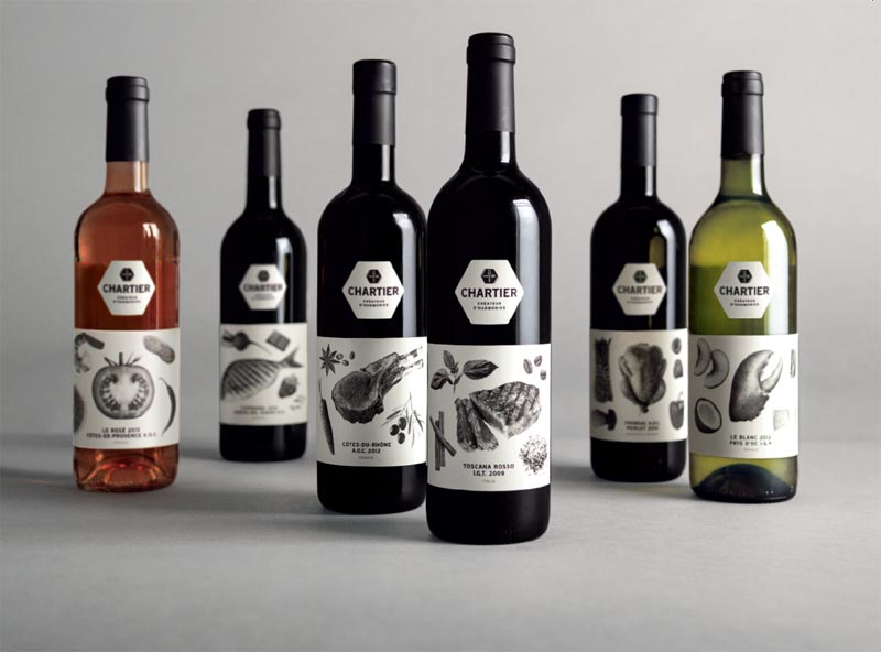 The Chartier range of wines earns the highest distinction at the 2014 Grand Prix Grafika
