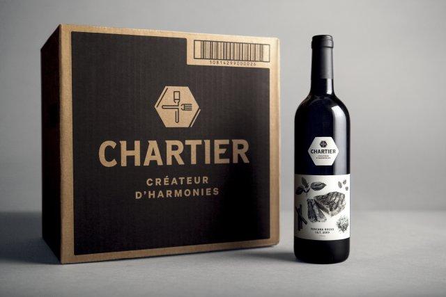 Grafika lève son verre à François Chartier (La presse)
