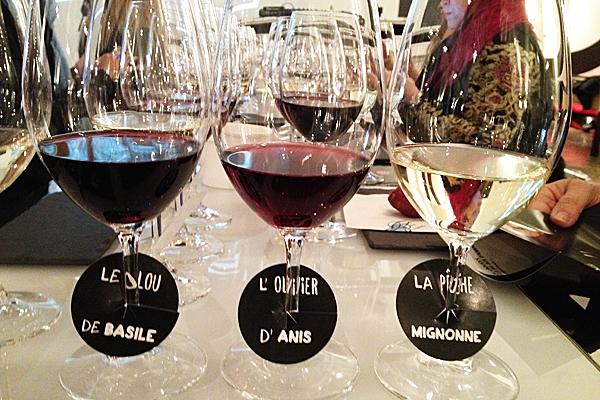 Ronald Georges du Blogue vin Millésime de Radio-Canada emballé par Les Vins Harmonies signés Chartier et offerts chez IGA.
