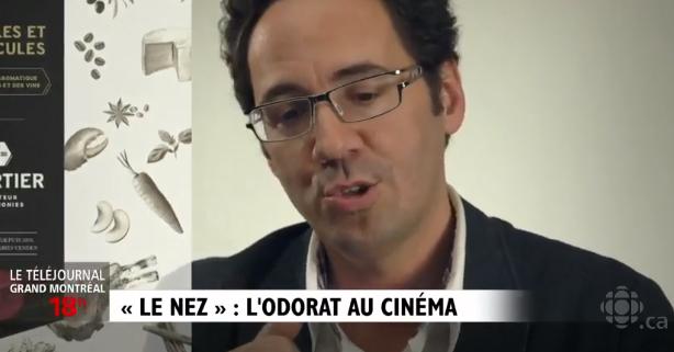 Le Téléjournal Montréal de la télé de Radio-Canada signal le fascinant film Le Nez