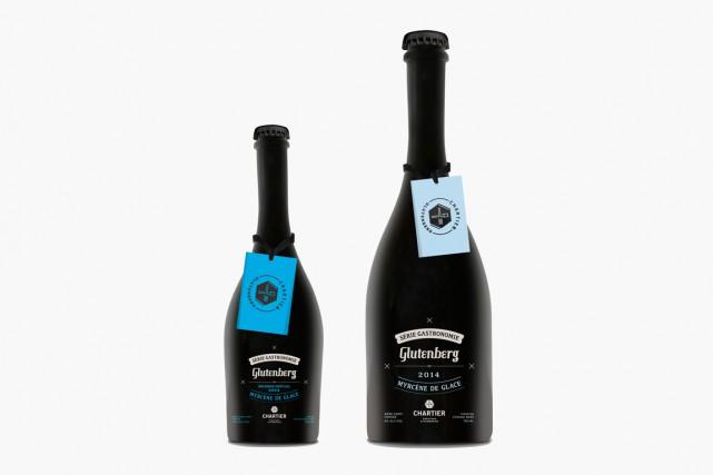 Claude Langlois, chroniqueur vin du Journal de Montréal aussi emballé par la Myrcène de Glace!