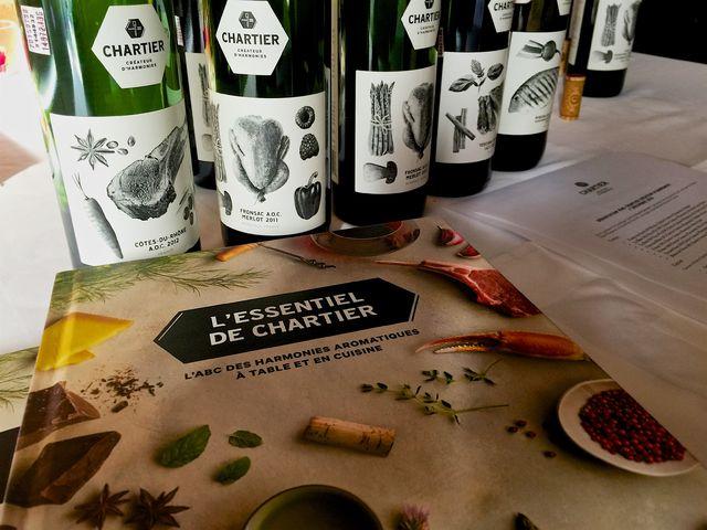 Les vins de François Chartier