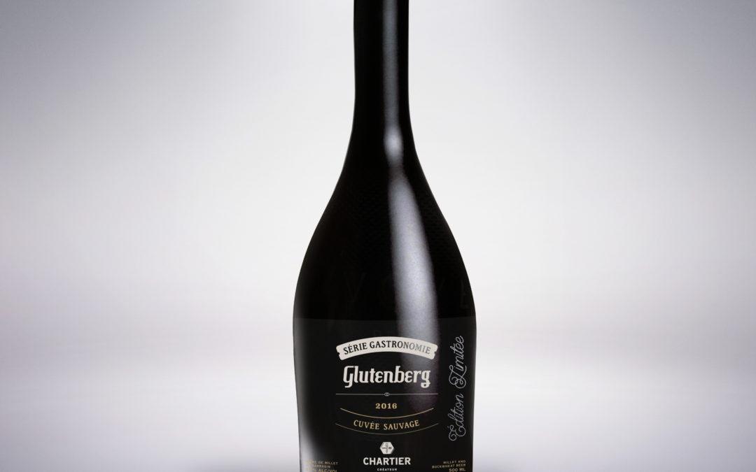 3 nouvelles bières «Édition limitée» Série Gastronomie par Chartier & Glutenberg