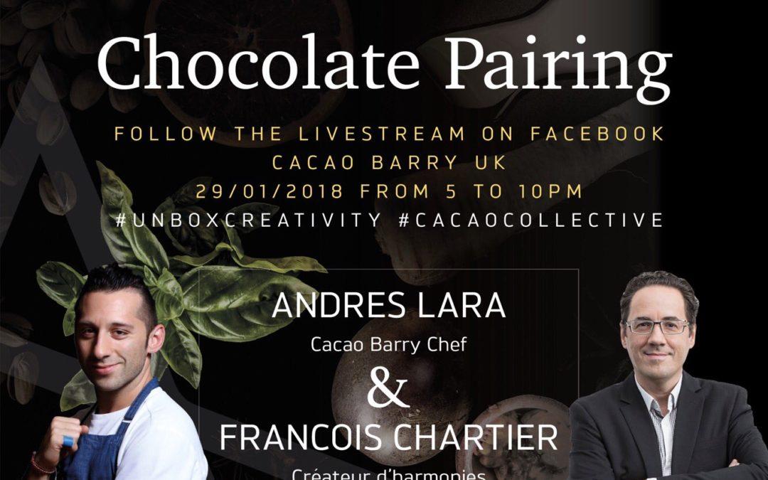 Chartier en tournée mondiale avec Cacao Barry !