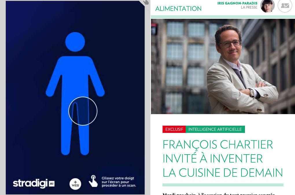 FRANÇOIS CHARTIER INVITÉ À INVENTER LA CUISINE DE DEMAIN