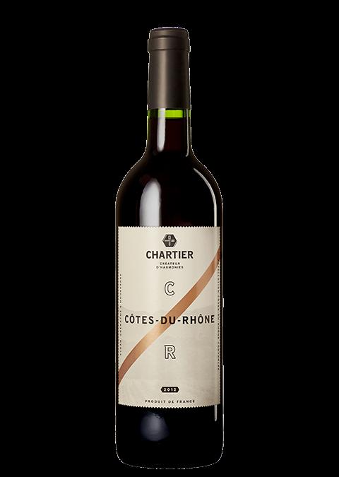 Côtes-du-Rhône A.O.C. 2012 Chartier Créateur d'Harmonies