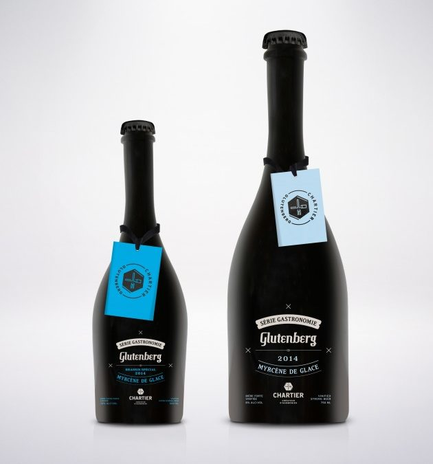 Glutenberg Microbrewery and Chartier «Créateur d'Harmonies» Close the Year with a Bang by Launching Two New Beers: The Myrcène de Glace and The Myrcène de Glace Brassin Spécial, The 4th and 5th Beers in the Série Gastronomie Range