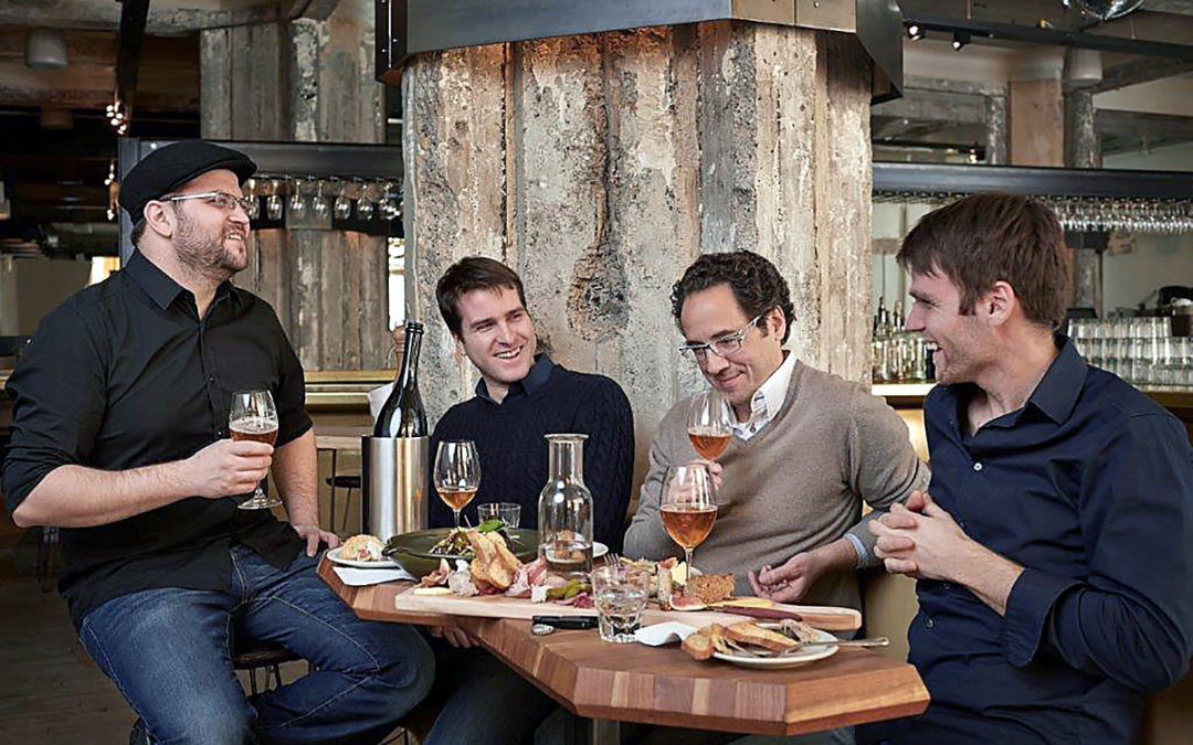 """Glutenberg Microbrewery and Chartier """"Créateur d'harmonies"""" present Série Gastronomie a range of gourmet beers crafted specifically for the table"""