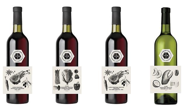 Chartier « Créateur d'harmonies » lance une gamme de vins exclusive pour l'hôtel Fairmont Château Frontenac, élaborés et inspirés des menus des restaurants du célèbre hôtel de Québec.
