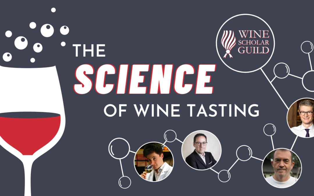 3 webinars de Chartier dans la Série Science of Wine Tasting, de la Wine Scholar Guild